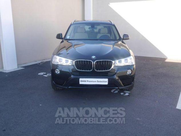 BMW X3 xDrive20dA 190ch Executive Saphirschwarz Occasion - 11