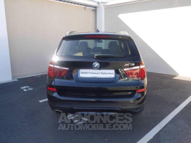 BMW X3 xDrive20dA 190ch Executive Saphirschwarz Occasion - 12