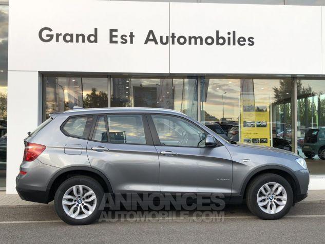 BMW X3 xDrive20dA 190ch Lounge Plus Gris Foncé Occasion - 1