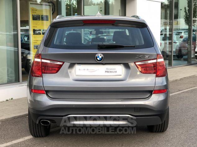 BMW X3 xDrive20dA 190ch Lounge Plus Gris Foncé Occasion - 3