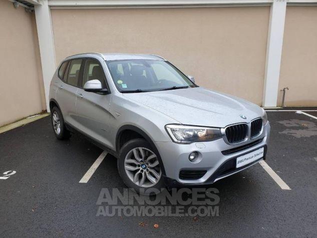 BMW X3 xDrive20dA 190ch Lounge Plus Glaciersilber Occasion - 0