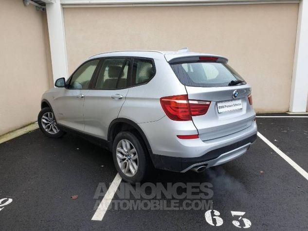 BMW X3 xDrive20dA 190ch Lounge Plus Glaciersilber Occasion - 1