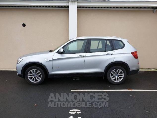 BMW X3 xDrive20dA 190ch Lounge Plus Glaciersilber Occasion - 2