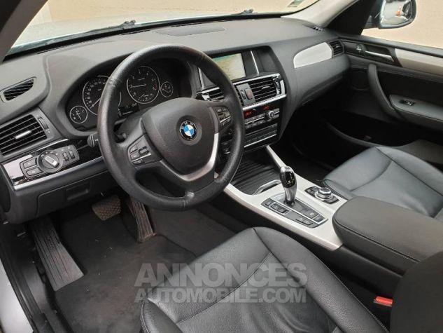 BMW X3 xDrive20dA 190ch Lounge Plus Glaciersilber Occasion - 3