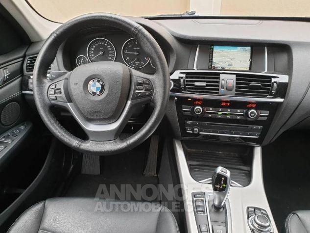 BMW X3 xDrive20dA 190ch Lounge Plus Glaciersilber Occasion - 4