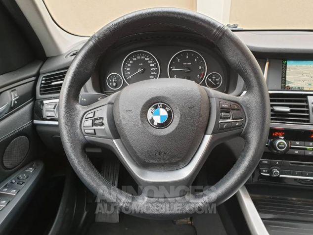 BMW X3 xDrive20dA 190ch Lounge Plus Glaciersilber Occasion - 5