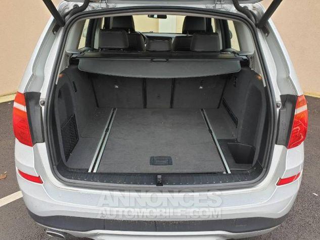 BMW X3 xDrive20dA 190ch Lounge Plus Glaciersilber Occasion - 7