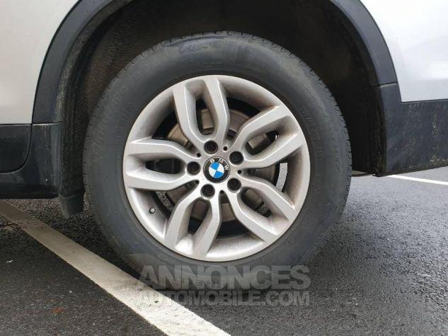 BMW X3 xDrive20dA 190ch Lounge Plus Glaciersilber Occasion - 8