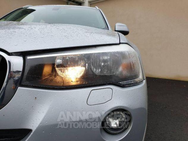 BMW X3 xDrive20dA 190ch Lounge Plus Glaciersilber Occasion - 11