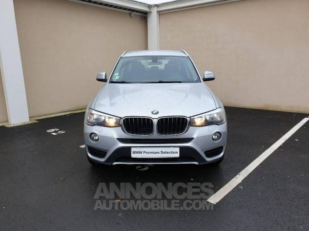 BMW X3 xDrive20dA 190ch Lounge Plus Glaciersilber Occasion - 12