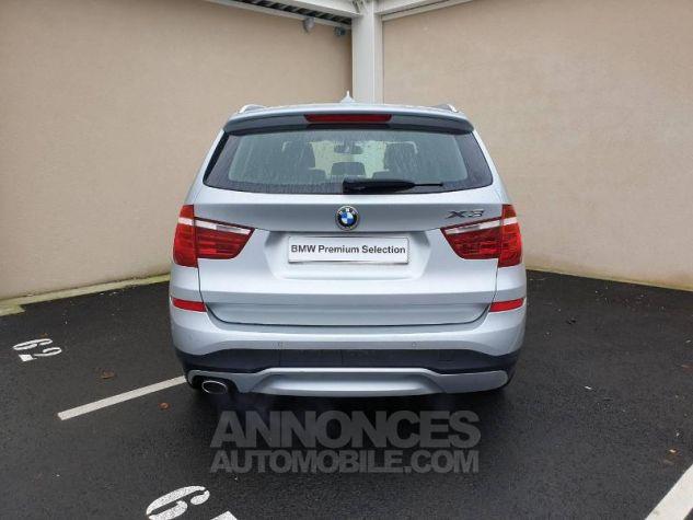 BMW X3 xDrive20dA 190ch Lounge Plus Glaciersilber Occasion - 13