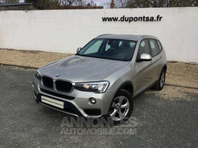 BMW X3 xDrive20dA 190ch Lounge Plus GRIS C Occasion - 0
