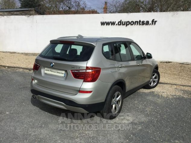 BMW X3 xDrive20dA 190ch Lounge Plus GRIS C Occasion - 1
