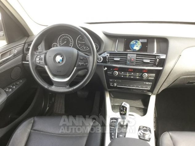 BMW X3 xDrive20dA 190ch Lounge Plus GRIS C Occasion - 4