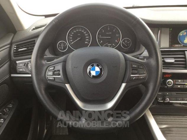 BMW X3 xDrive20dA 190ch Lounge Plus GRIS C Occasion - 5