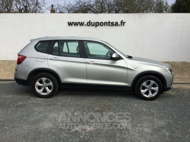 BMW X3 xDrive20dA 190ch Lounge Plus GRIS C Occasion - 9