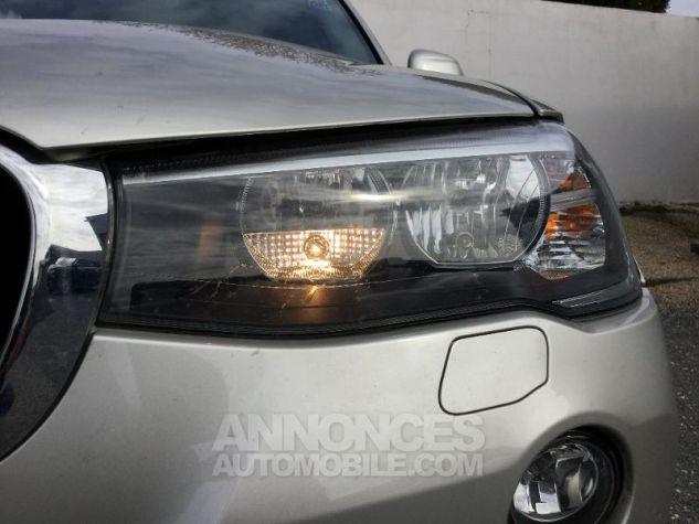 BMW X3 xDrive20dA 190ch Lounge Plus GRIS C Occasion - 10