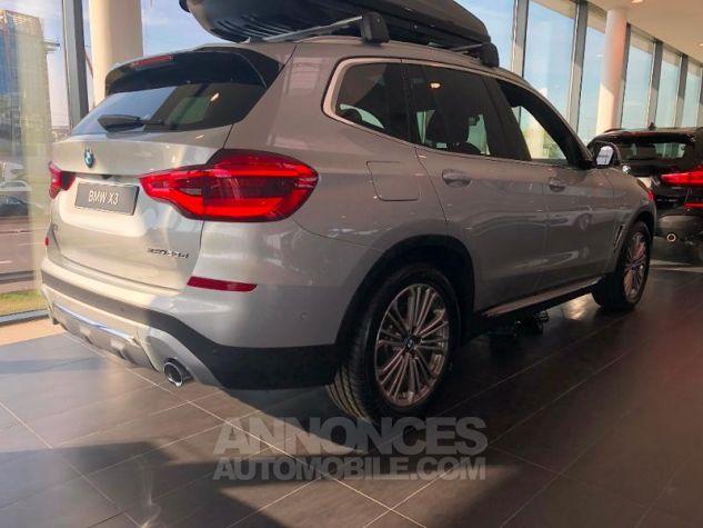 BMW X3 xDrive20dA 190ch Luxury Glaciersilber metallise Neuf - 1