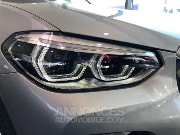BMW X3 xDrive20dA 190ch Luxury Glaciersilber metallise Neuf - 11
