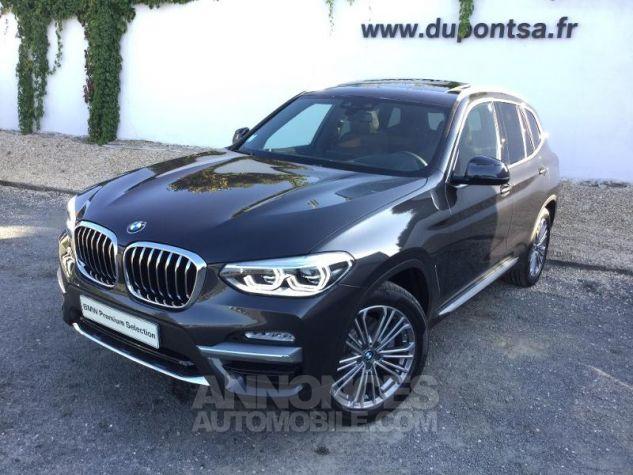 BMW X3 xDrive20dA 190ch Luxury Euro6c Sophistograu  metallise Occasion - 0