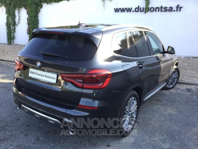 BMW X3 xDrive20dA 190ch Luxury Euro6c Sophistograu  metallise Occasion - 1