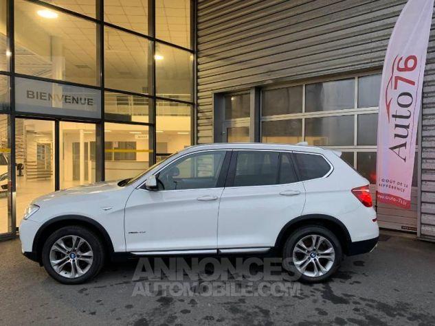 BMW X3 xDrive20dA 190ch xLine Alpinweiss Occasion - 2