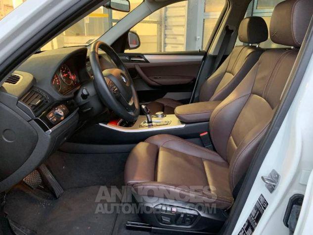 BMW X3 xDrive20dA 190ch xLine Alpinweiss Occasion - 6
