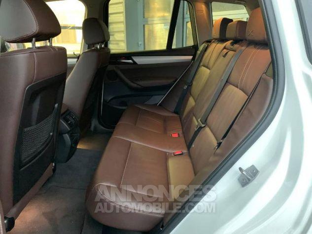BMW X3 xDrive20dA 190ch xLine Alpinweiss Occasion - 7