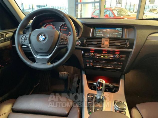 BMW X3 xDrive20dA 190ch xLine Alpinweiss Occasion - 8