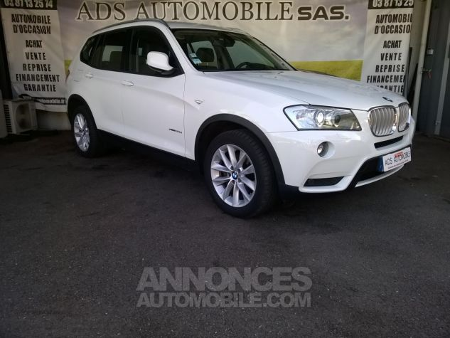 BMW X3 XDRIVE30D 258CH Luxe Steptronic A Blanc Occasion - 0