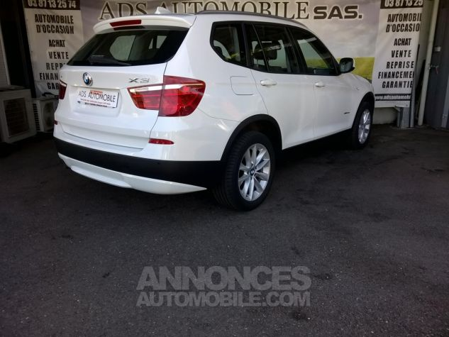 BMW X3 XDRIVE30D 258CH Luxe Steptronic A Blanc Occasion - 1