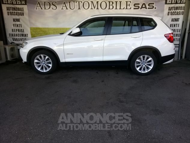 BMW X3 XDRIVE30D 258CH Luxe Steptronic A Blanc Occasion - 3