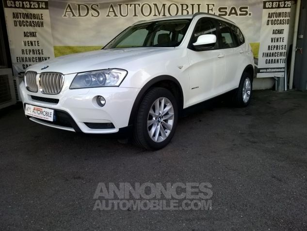 BMW X3 XDRIVE30D 258CH Luxe Steptronic A Blanc Occasion - 4