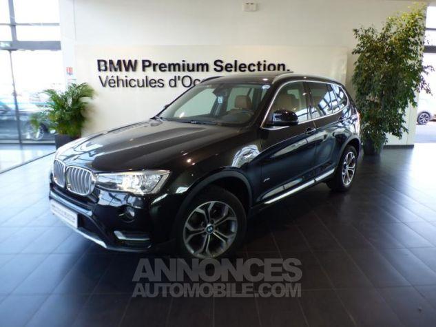 BMW X3 xDrive30dA 258ch xLine Saphirschwarz metallise Occasion - 0