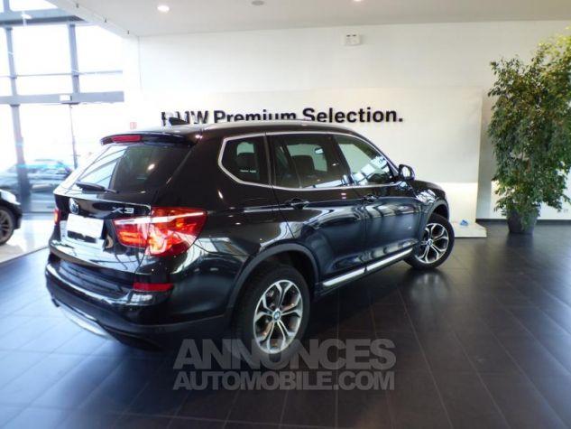 BMW X3 xDrive30dA 258ch xLine Saphirschwarz metallise Occasion - 1