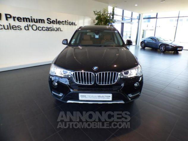 BMW X3 xDrive30dA 258ch xLine Saphirschwarz metallise Occasion - 4