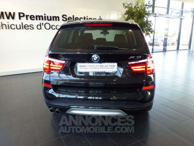 BMW X3 xDrive30dA 258ch xLine Saphirschwarz metallise Occasion - 5
