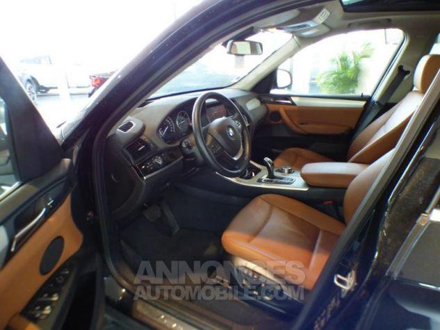 BMW X3 xDrive30dA 258ch xLine Saphirschwarz metallise Occasion - 6