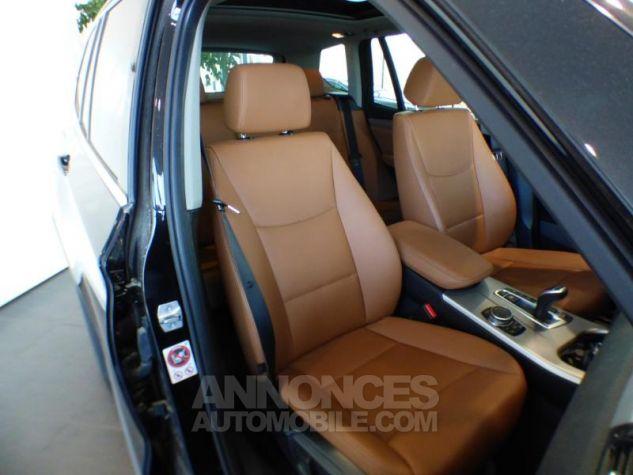 BMW X3 xDrive30dA 258ch xLine Saphirschwarz metallise Occasion - 8