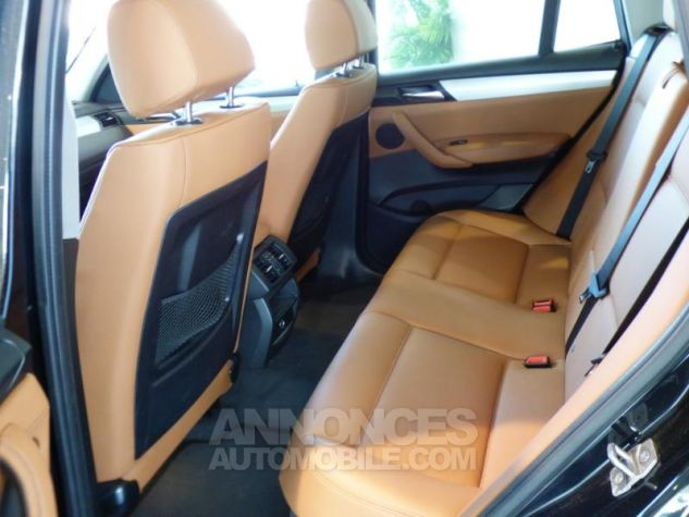 BMW X3 xDrive30dA 258ch xLine Saphirschwarz metallise Occasion - 9