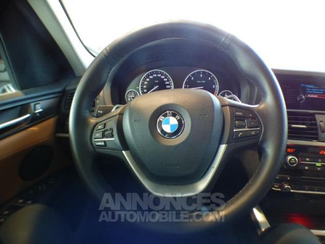 BMW X3 xDrive30dA 258ch xLine Saphirschwarz metallise Occasion - 12