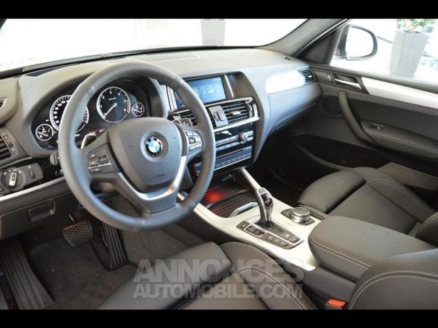 BMW X3 xDrive30dA 258ch xLine Saphirschwarz metallise Occasion - 2