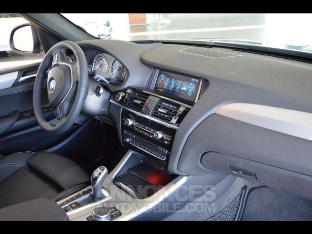BMW X3 xDrive30dA 258ch xLine Saphirschwarz metallise Occasion - 3