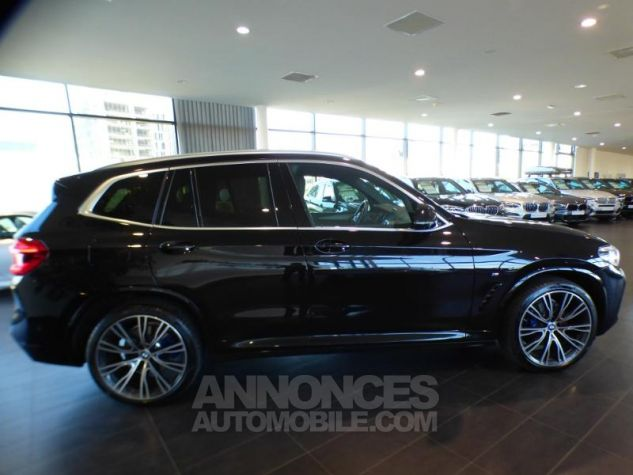 BMW X3 xDrive30dA 265ch M Sport SAPHIR SCHWARZ Occasion - 3
