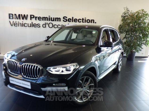 BMW X3 xDrive30dA 265ch M Sport Euro6c Carbonschwarz metallise Occasion - 0