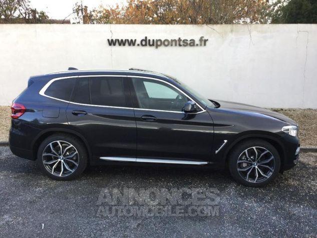 BMW X3 xDrive30dA 265ch xLine Euro6d-T Sophistograu Metallisee Occasion - 11