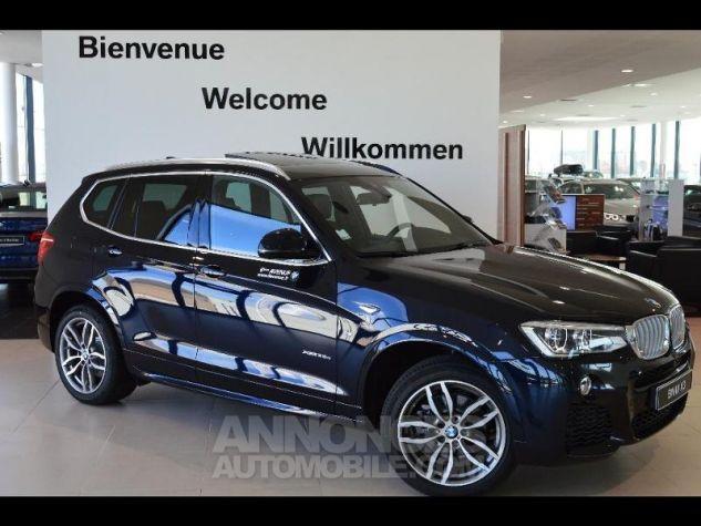 BMW X3 xDrive35dA 313ch M Sport Carbonschwarz metallise Occasion - 0
