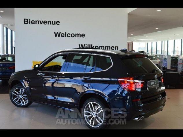 BMW X3 xDrive35dA 313ch M Sport Carbonschwarz metallise Occasion - 1