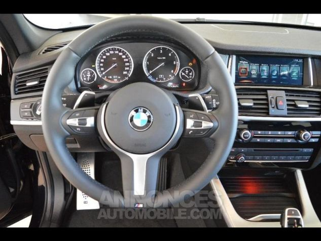 BMW X3 xDrive35dA 313ch M Sport Carbonschwarz metallise Occasion - 4