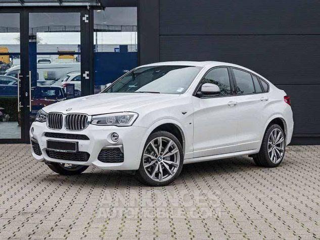 BMW X4 F26 M40I 360CH BLANC Occasion - 0